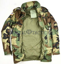 ECWCS M65 USGI ARMY BDU WOODLAND COLD WEATHER FIELD JACKET