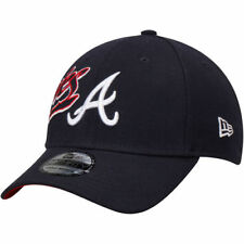 New Era Atlanta Braves Navy Flashmark 39THIRTY Flex Hat - MLB