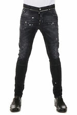 DSQUARED2 Dsquared² Men Jeans Denim in Cotton TIDY BIKER JEAN Made in Italy NWT
