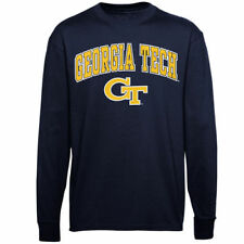 Georgia Tech Yellow Jackets Youth Navy Blue Midsize Long Sleeve T-Shirt