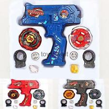 Beyblade 4D Metal Master Fusion Top Fight w/ Dual Launcher Set Kids Toy Gift