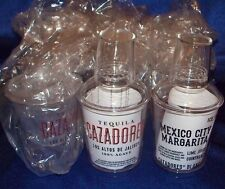 Twelve Cazadores Tequila 12 Oz Cocktail Shakers - New! Three Piece Clear Acrylic