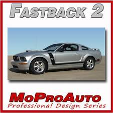 FASTBACK 2 BOSS Style Mustang - 3M Pro Grade GRAPHICS Stripes Decal 2005 162