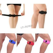 Adjustable Knee Strap Sleeve Patella Wrap Compression Support Brace Protector