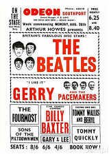 Art print POSTER Beatles Gerry & The Pacemakers  Concert