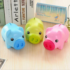 Piggy-Bank Money Box For Savings Coins & Cash Fun Gifts Plastic Novelty Pig MA