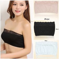Anti Emptied Underwear Brassiere Bandeau Wrapped Chest Strapless Bra Tube Top