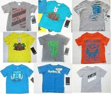 Hurley Infant / toddle boys tops Sizes-12M,18M,24M, 2T,3T NWT