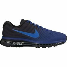 Men's Nike Air Max 2017 Running Shoe 849559-401 DEEP ROYAL BLUE/COBALT-BLACK