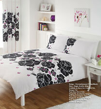 Chrysanthemum Floral Printed Duvet Cover Bedding Set, with Pillow Case