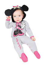 Disney Baby Childs Licensed Minnie Mouse Toddler Romper Suit Fancy Dress Costume