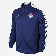 NIKE USA SOCCER TEAM AUTHENTIC N98 TRACK JACKET 2015/16 Loyal Blue.