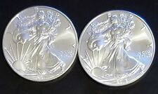 Lot Of (2) 2011 And 2016 American Silver Eagle $1 Dollar Coin No Reserve