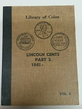 Library of Coins Vol 3 Lincoln Cents Part 2 (1941-) Coin Album