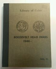 Library of Coins Album Roosevelt Head Dimes (1946-) Vol 11