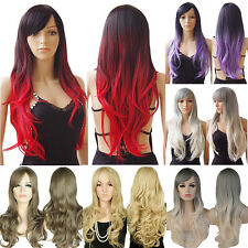 Synthetic Hair Full Wigs Long Curly Fancy Dress Cosplay Costume Anime Party FW3
