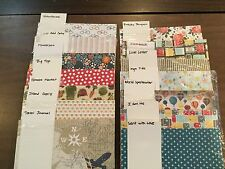 STAMPIN' UP! DESIGNER SERIES PAPER, Retired, 12x12, NEW, RARE Great Selection