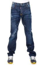DSQUARED2 Dsquared² New Men Blue Jeans Denim DEAN JEAN  Made  Italy