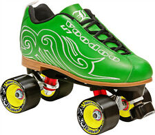 SALE! NEW! LABEDA VOODOO U7 GREEN QUAD SPEED ROLLER SKATES WOMENS sz 5-11 $250