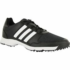 MENS ADIDAS TECH RESPONSE GOLF SHOES F33553 CORE BLACK/WHITE/CORE BLACK