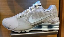 Women's Nike Shox Avenue Running Shoes - Wolf Grey/Glacier Blue/White