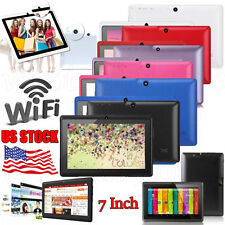 "7"" HD Unlocked Tablet PC 8GB WiFi Quad Core Google Android 4.4 Dual Camera New"