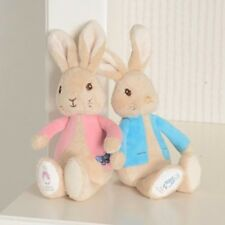 My First Peter Rabbit or Flopsy Bunny Bean Rattle Plush Baby Toy Beatrix Potter