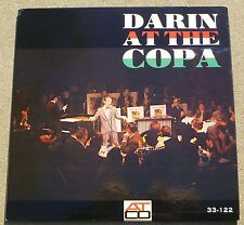 NEAR MINT Bobby Darin at the Copa LP Yellow Harp ATCO Label 1st Pressing Cover