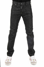 DSQUARED2 Dsquared² New Men Black DEAN Jeans denim cotton  Made Italy