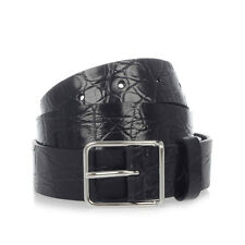 DSQUARED2 D2 Man Crocodile Leather Belt Made in Italy New with tags and Original
