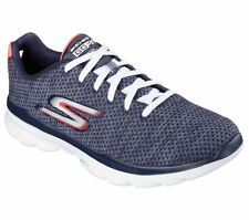 14088 Navy Skechers Shoe Go Fit Women Sport Fitness Cross Train Walk Workout New