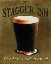 Stagger Inn by Robert Downs 20x16 Art Print Poster College Beer Bar Drinking