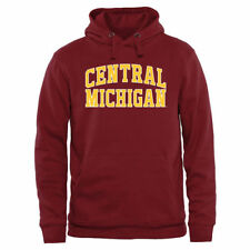 Central Michigan Chippewas Maroon Everyday Pullover Hoodie - College