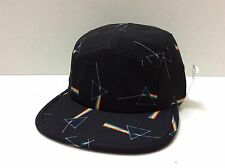 "HABITAT ""DARKSIDE OF THE MOON"" 5-PANEL CAP BLACK ONE SIZE FITS ALL"