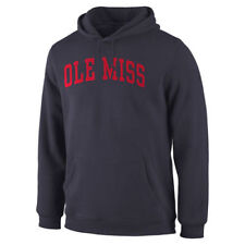 Ole Miss Rebels Navy Basic Arch Pullover Hoodie