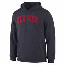 Ole Miss Rebels Navy Basic Arch Pullover Hoodie - College