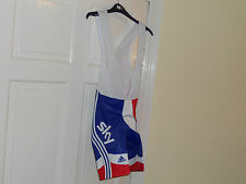 ADIDAS Team GB SKY Rider Issue cycling bike bib shorts Great Britain