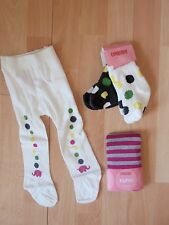 NWT GIRLS GYMBOREE MERRY AND BRIGHT SOCKS, TIGHTS SZ 0-6, 6-12 MONTHS