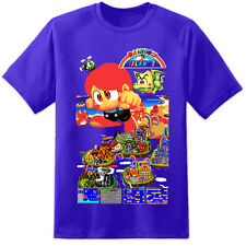 Rainbow Islands Bubble Bobble Retro Gaming T Shirt Sega SNES Nintendo ps4 xbox