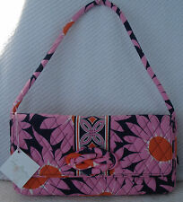 Vera Bradley Shoulder Bag KNOT JUST A CLUTCH Purse LOVES ME Pink Ribbon Color