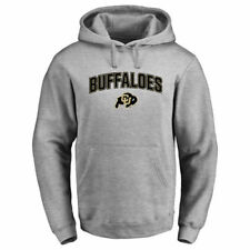 Colorado Buffaloes Ash Proud Mascot Pullover Hoodie