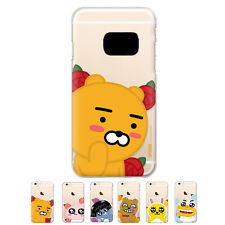 S2B Kakao Friends Flower Jelly Slim Bumper Cover Case For Samsung Galaxy Note5
