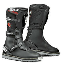 SIDI COURIER TRIALS STYLE BLACK WATERPROOF MOTORCYCLE MOTORBIKE BOOTS