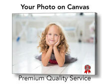 "Your Photo Picture Canvas Print - Personalised Canvas Ready to Hang 20"" x 30"" A1"