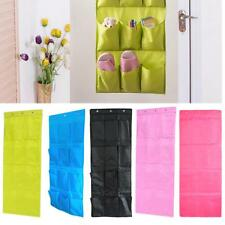 12 Pockets House Over Door Wall Hanging Organizer Storage Bag Holder Decor