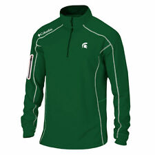 Columbia Golf Michigan State Spartans Green Shotgun Quarter-Zip Pullover