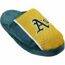 Oakland Athletics Youth Jersey Slippers - MLB