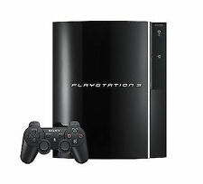 Playstation 3 Fat 80GB PS3 W/Controller Backwards Compatible System Console