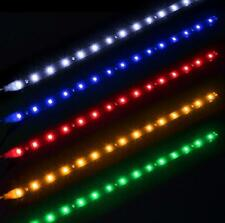1pcs 30cm 15LED 12V 3528SMD Car Motor Auto Waterproof LED Strip Light Flexible
