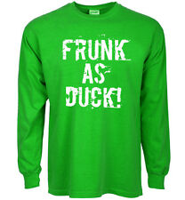 Funny st patricks day t-shirt Frunk as Duck st paddys day tee shirts pattys tee